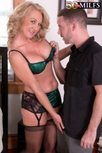 Cali comes to 50PlusMILFs.com and acquires her gazoo fucked