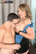 Catrina shags her topmost friend's son